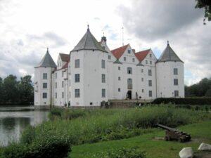 Gesamtansicht Schloss Glücksburg, Schleswig-Holstein