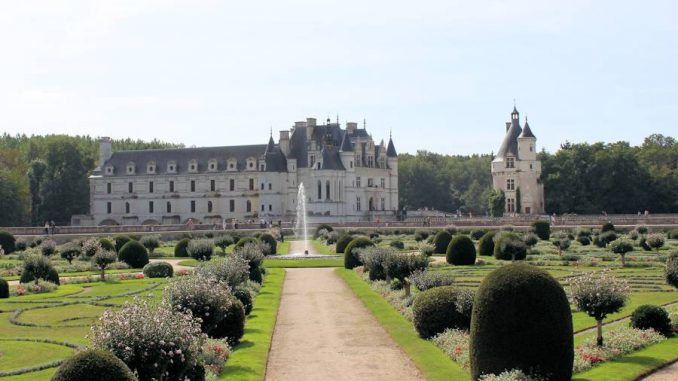 Chenonceau_Garten-Diane-de-Poitiers_6458
