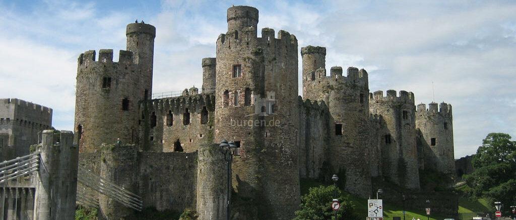 Conwy Castle - Blick von der Brücke