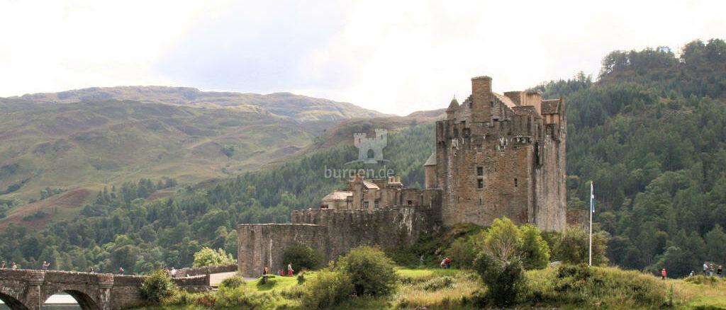Eilean Donan Castle - wohl eine der bekanntesten Burgen der Welt