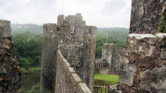 Pembroke-Castle-Wales_Mauerdetail