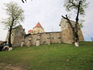 Kirchenburg Șaroș pe Târnave (deutsch Scharosch, Scharosch an der Kokel, ungarisch Szászsáros), Rumänien