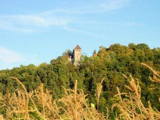 Burg Gleichenstein, Thüringen - Panorama