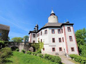 Burg Posterstein, Thüringen - Seitenansicht