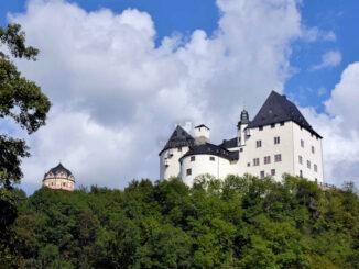 Schloss Burgk, Thüringen - Blick aufs Schloss © Schloss Burgk