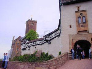 Wartburg, Eisenach (Thüringen) - Haupttor