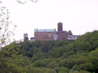 Wartburg, Eisenach (Thüringen) - Panoramaansicht