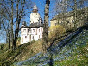 Burg Posterstein im Frühling