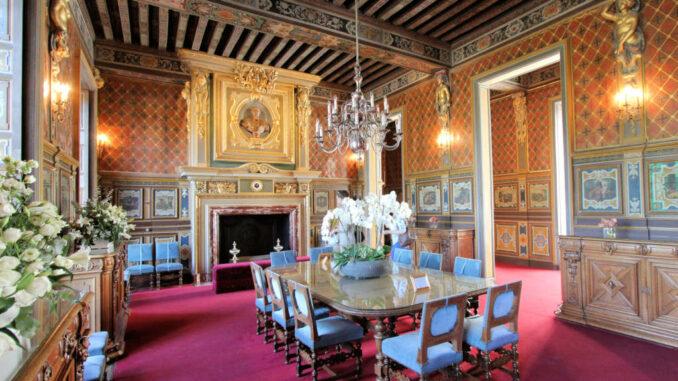 Chateau-de-Cheverny_6808_Speisesaal