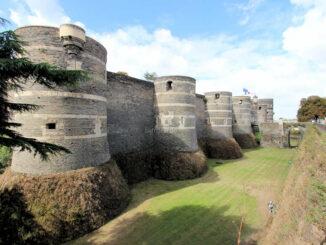 Château d'Angers (Loire) - Vorderseite
