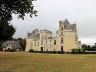 Château de Brézé, Loiregebiet - Haupteingang