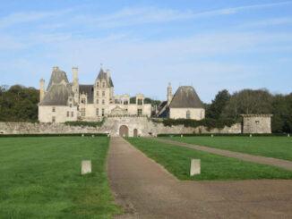Château de Kerjean, Frankreich - Komplettansicht