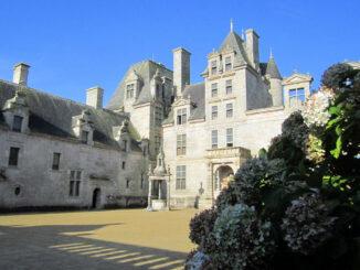 Château de Kerjean, Frankreich - Innenhof