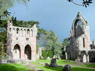 Dryburgh Abbey, Borderlands - Schottland