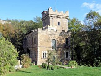 Hotel Schloss Wetzelstein, Thüringen - Blick aus dem Park