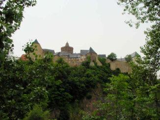 Burg Mildenstein (Sachsen) - Seitenansicht