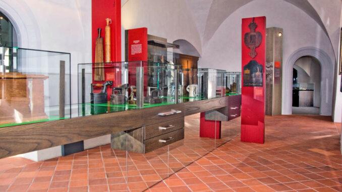 Schloss Klippenstein - Innanansicht Museum Stadtausstellung (Peter Mauksch)