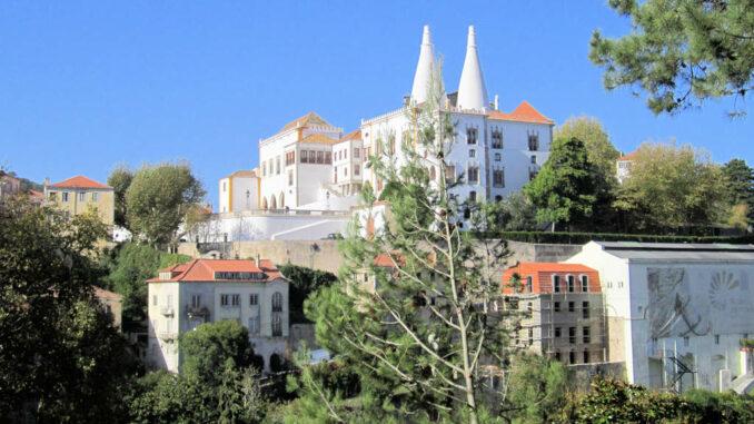 Palácio Nacional de Sintra, Portugal - Gesamtansicht