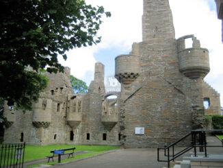 Bishop's Palace, Orkneys - Seitenansicht