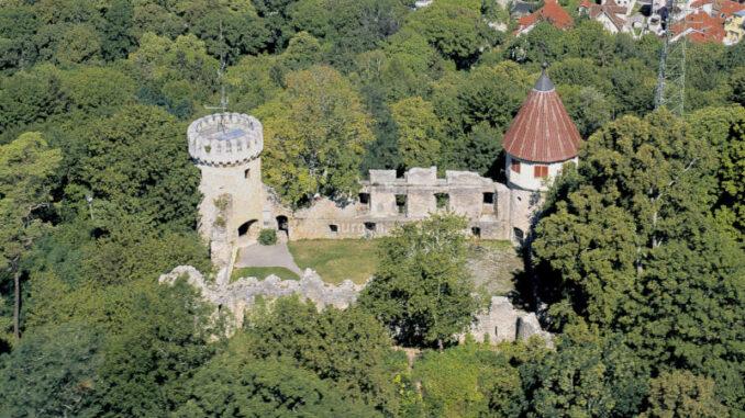 Burg-Honberg_Luftbild
