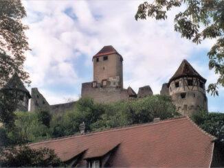 Burg Hornberg in Baden-Württemberg