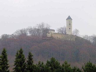 Burg Plesse, Niedersachsen - Gesamtansicht