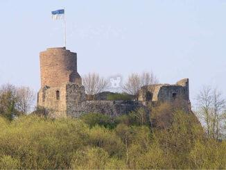 Burg Polle, Niedersachsen - Gesamtansicht