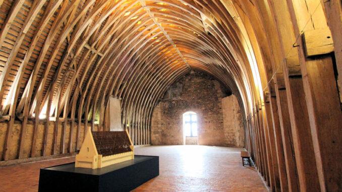 Chateau-de-Sully-sur-Loire_7476_Dachkonstruktion