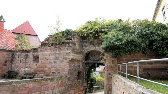 Hilpoltstein_1883_Reste-Torhaus
