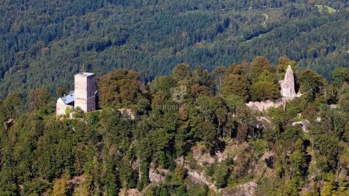 Hohenbaden_Altes-Schloss_Luftbild-Gesamtanlage_c-Achim-Mende-SSG