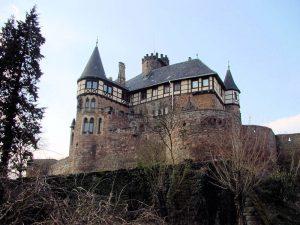 Schloss Berlepsch, Hessen - Fassadendetails