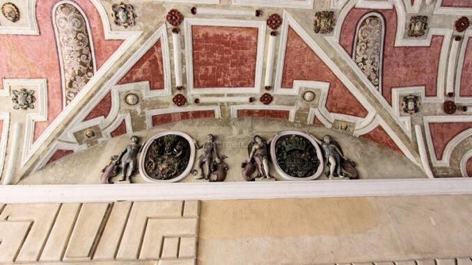 Schloss-Guestrow_9165_Deckengewoelbe-Torhaus