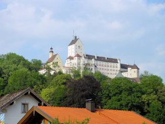 Schloss Hohenaschau, Bayern - im Sonnenschein