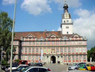 Schloss Wolfenbüttel, Niedersachsen - Haupteingang