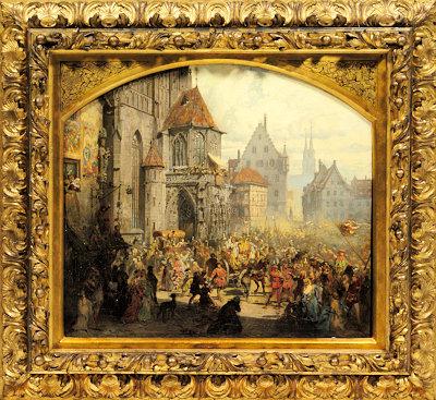 Nürnberger Lorenzgulden, 1520 - © Staatliche Münzsammlung, München / Nicolai Kästner