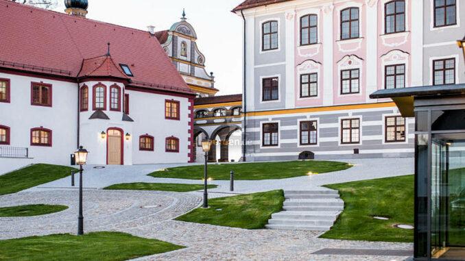 Schloss-Leitheim-Bayern