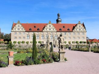 Schloss Weikersheim, vom Garten her
