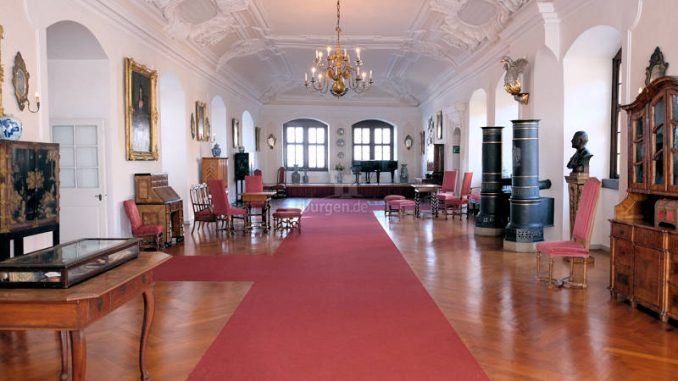 Schloss-Langenburg_Barocksaal