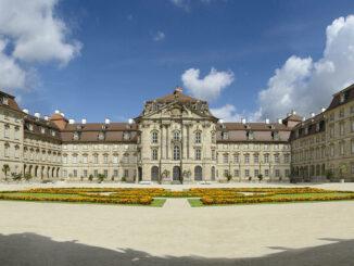 Schloss Weissenstein in Franken, Frontalansicht