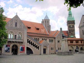 Braunschweig Dankwarderode, Niedersachsen - Panoramaansicht