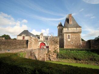Chateau de Goulaine, Loireregion (Frankreich) - Haupteingang