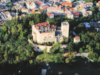 Schloss Bruneck, Südtirol - Luftbild - (c) MMM / Ripa