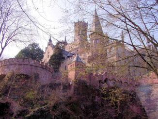 Marienburg, Nidersachsen - Blick vom Tal