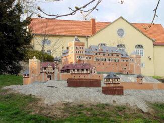 Burg Anhalt (Sachsen-Anhalt) - Modell