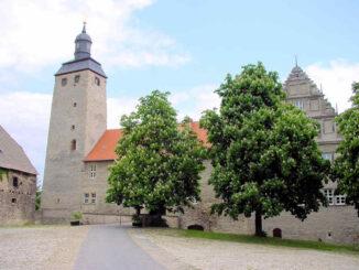 Burg Egeln (Sachsen-Anhalt) - Eingang