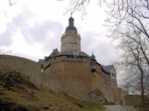 Burg Falkenstein, Harz (Sachsen-Anhalt) - mächtige Höhenburg im Harz