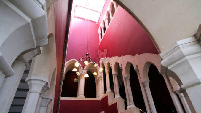 Kilkenny-Castle_9340_Treppenhaus