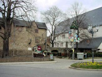 Schloss Harzgerode (Sachsen-Anhalt) - Tor und Palas