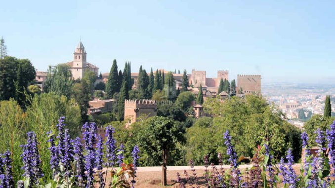 Alhambra, Granada (Spanien) - Panorama