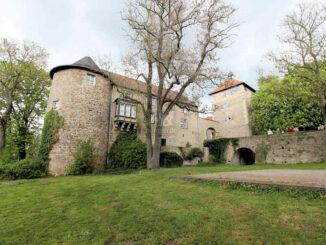 Burg Neuhaus bei Wolfsburg, Niedersachsen - Aussenansicht